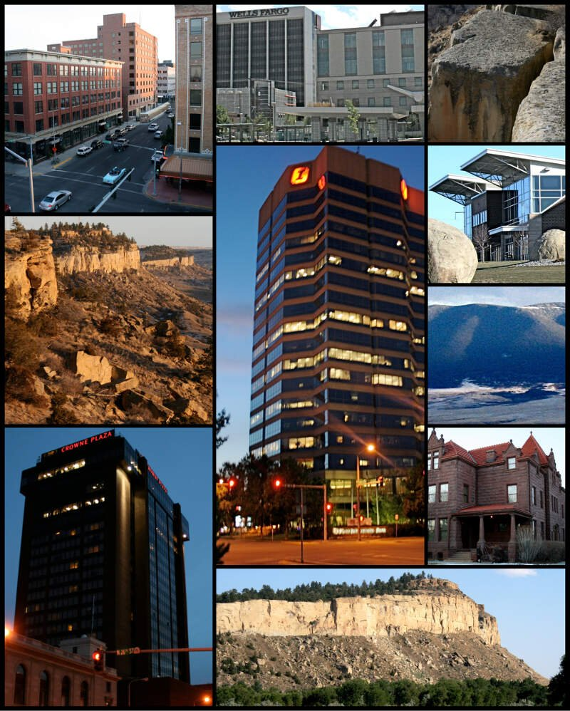 Billingsc Montana Collage