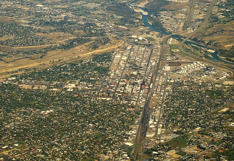 Billings Mt And Yellowstone River
