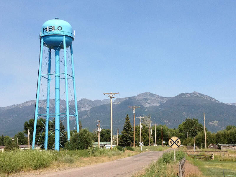 Pablo Montana Blue Water Tower July