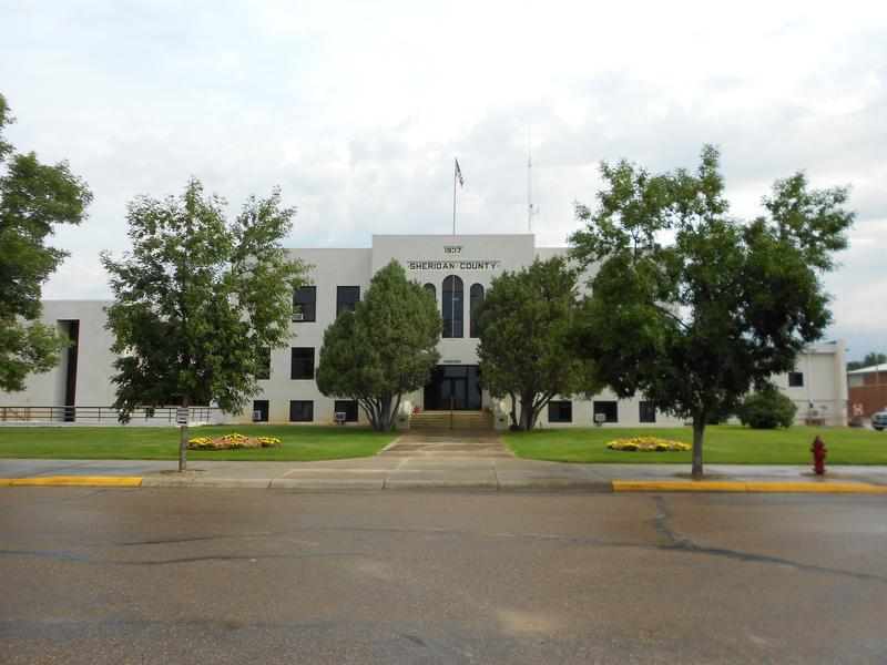Sheridan County Courthouse  Plentywood Mt