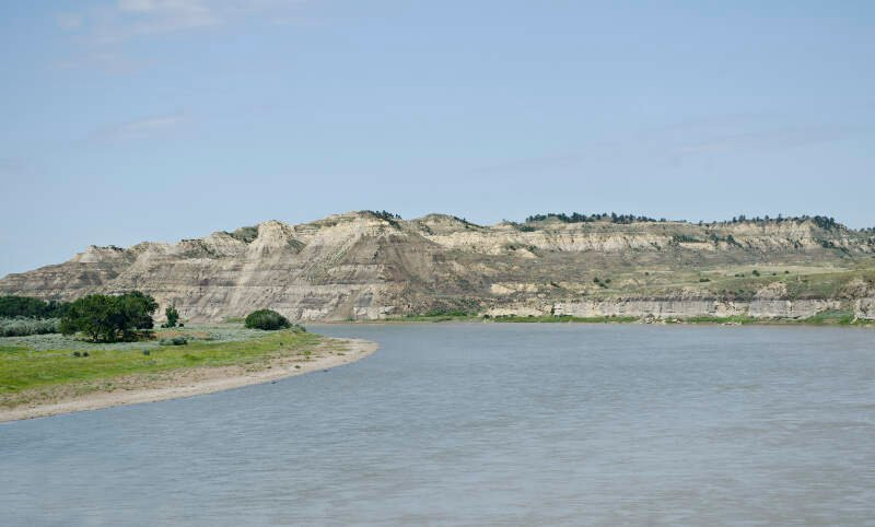 Yellowstone River   Sidney Montana