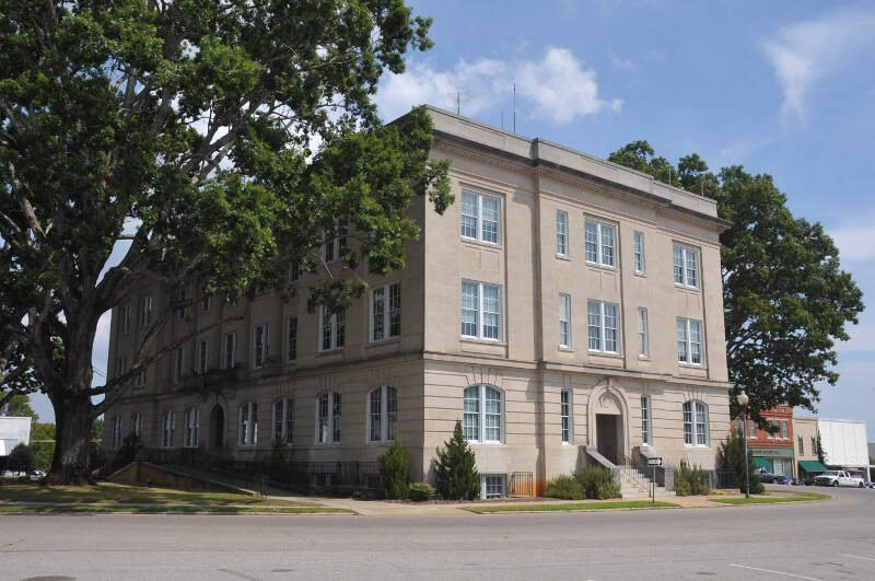 Moore County Courthousec Carthagec Moore County