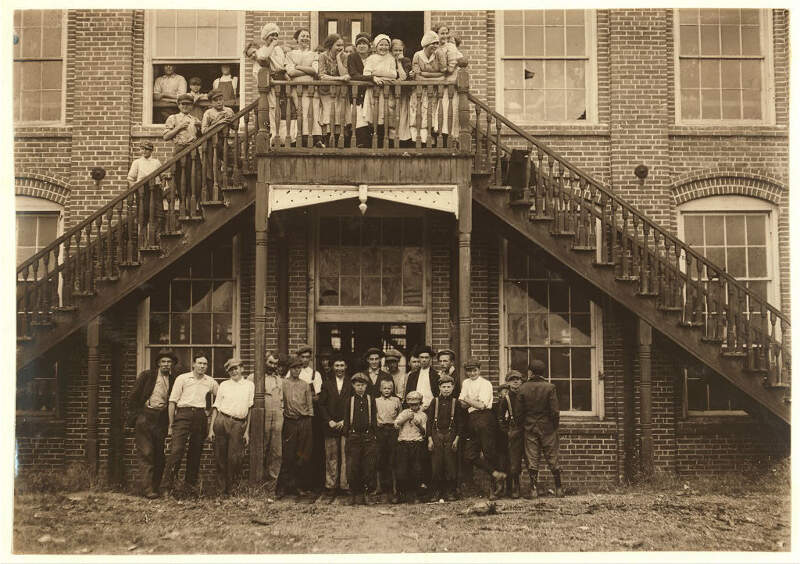 Workers Tolar Hart And Holt Mills Fayetteville