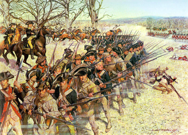 Battle Of Guiliford Courthouse March