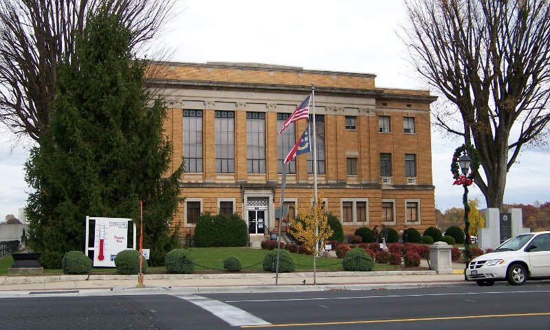 Mcdowell County Courthousec Marionc Nc