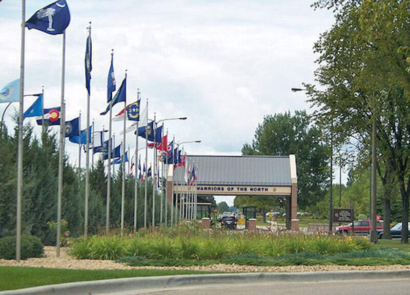 Grand Forks Afb Main Gate