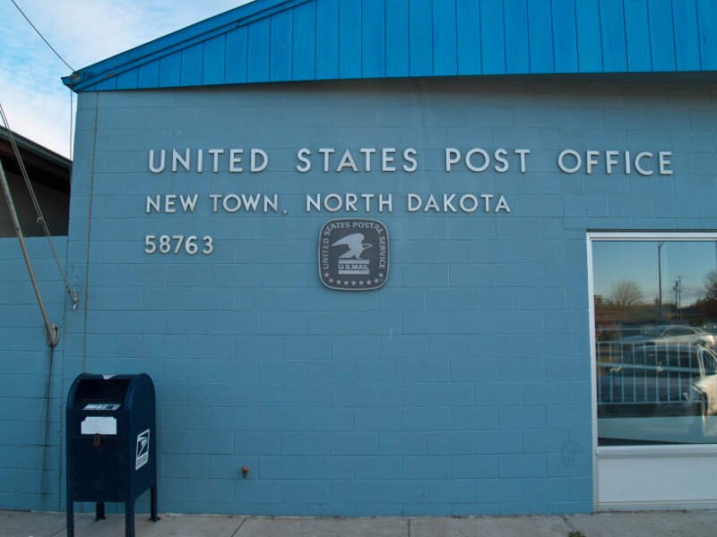 New Town, North Dakota