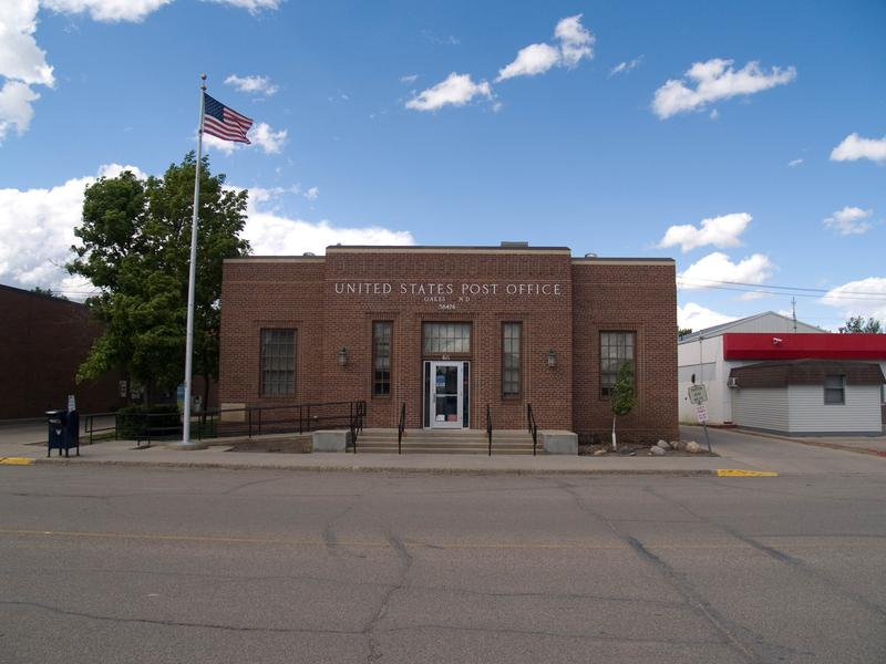 Oakes Post Office