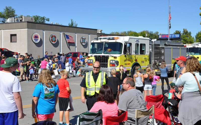 West Fest   Fire Department And Police Department