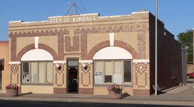 Kimballc Nebraska City Hall From Sw