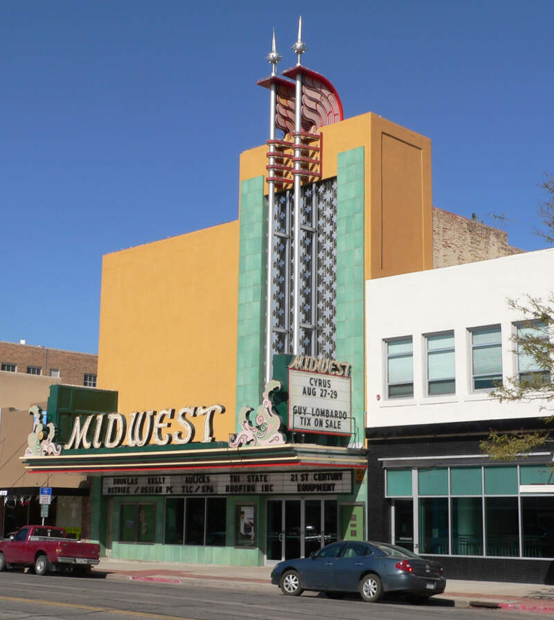 Midwest Theater Scottsbluff From Sw