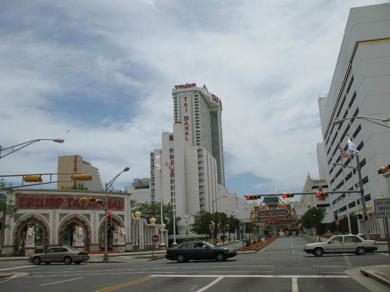 Trump Taj Mahal From Pacific Avenue