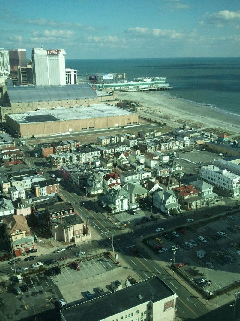 Ac Boardwalk Hall And Ocean