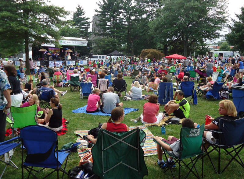 Summit Nj Summer Concert Series Music With People