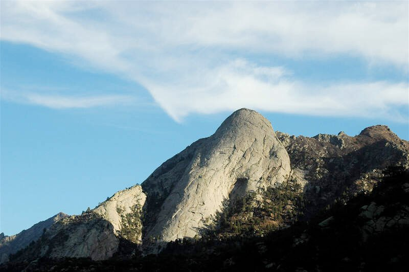 Sugarloaf Peakc Organ Mountainsc New Mexico