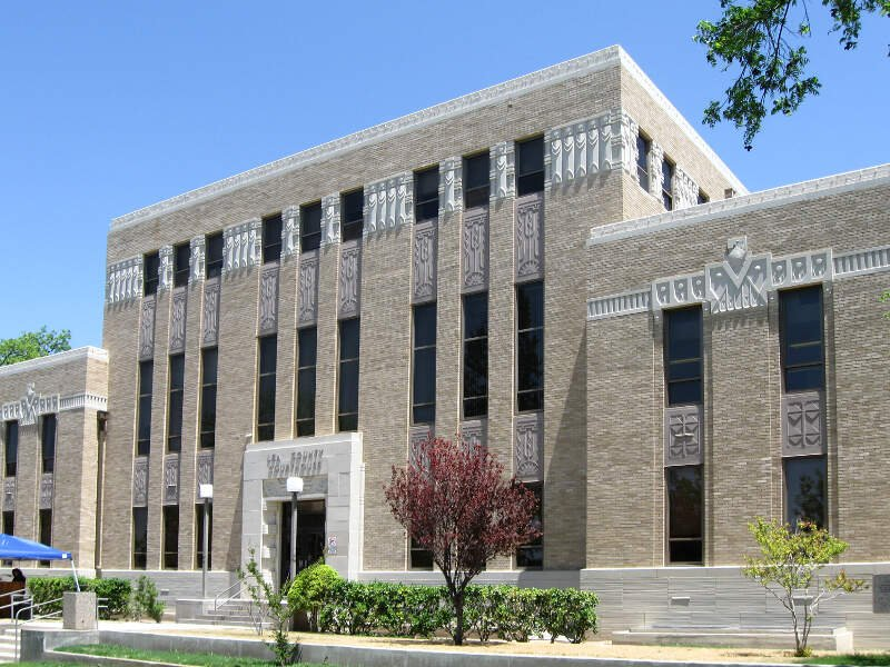 Lea County New Mexico Court House