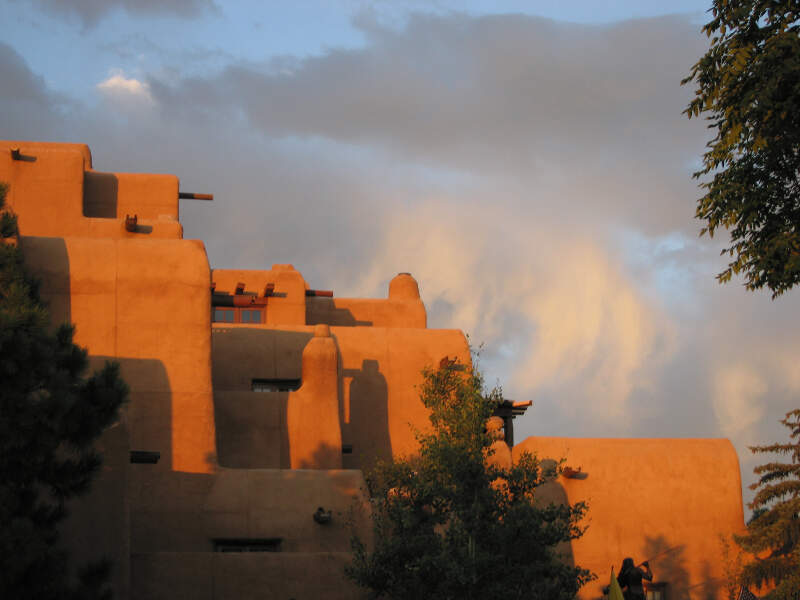 Adobe In Santa Fe At The Plaza  Hotel Inn And Spa At Loretto
