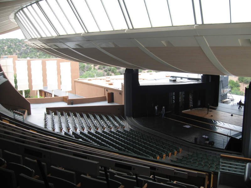 Santa Fe Opera Interior View From Section
