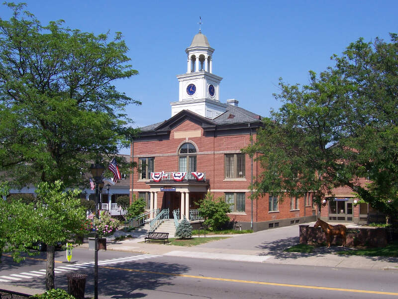 Fairportc New York Village Hall