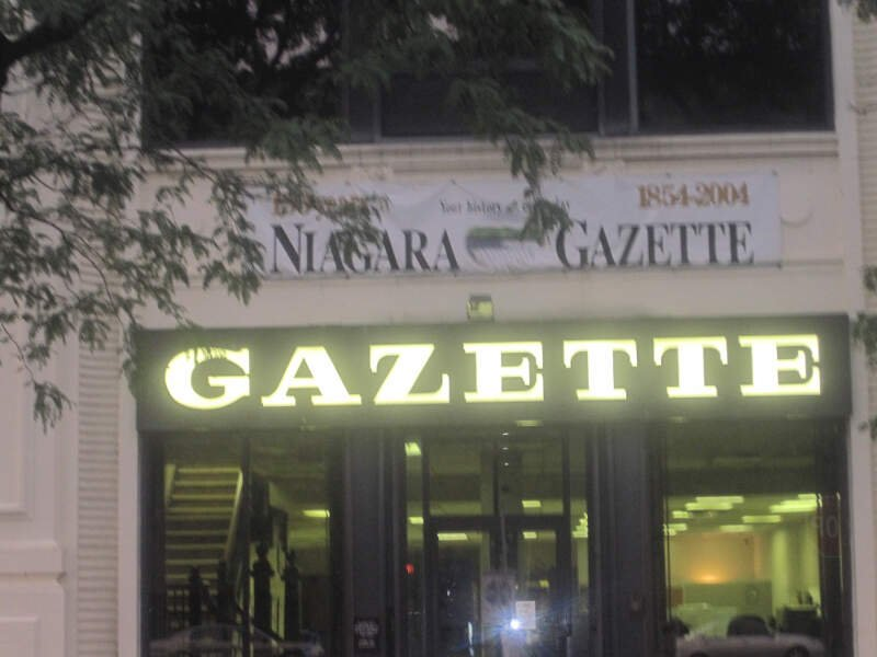 Niagara Falls Gazette Office Img
