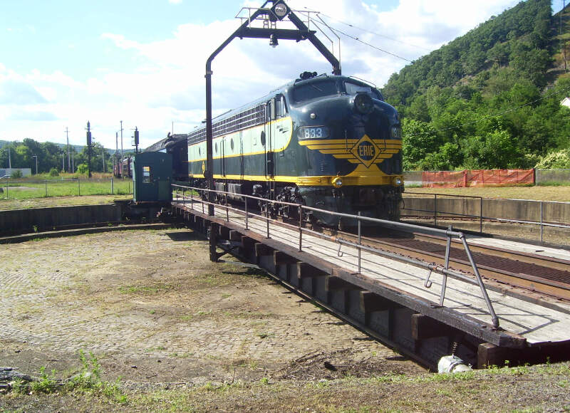 Erie Turntable Port Jervis New York