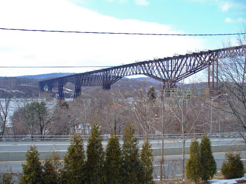 Poughkeepsie Bridge By David Shankbone