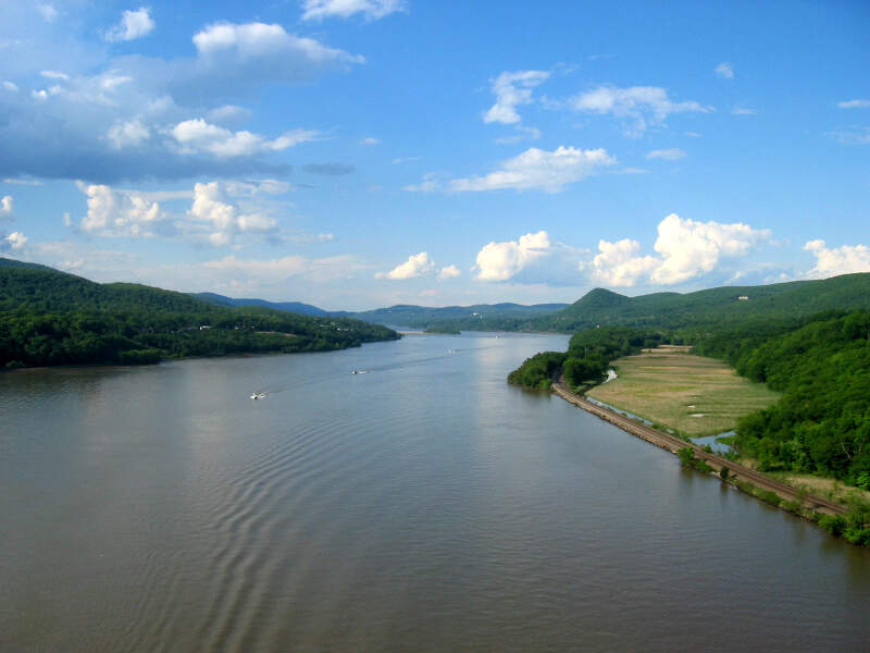Hudson River From Bear Mountain Bridge