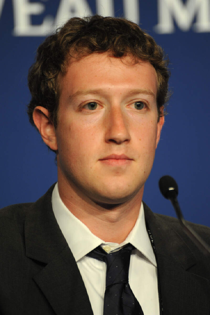 Mark Zuckerberg At The Th G Summit In Deauville
