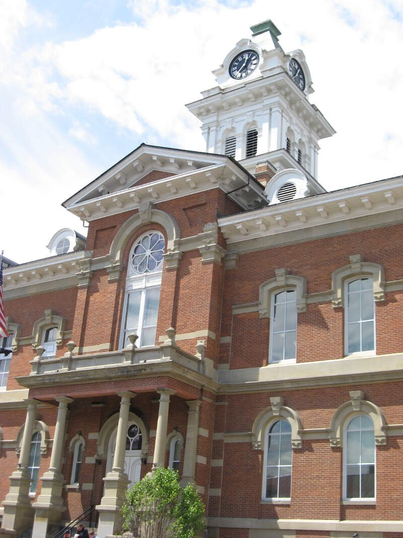 County Courthouse Athens Oh Usa