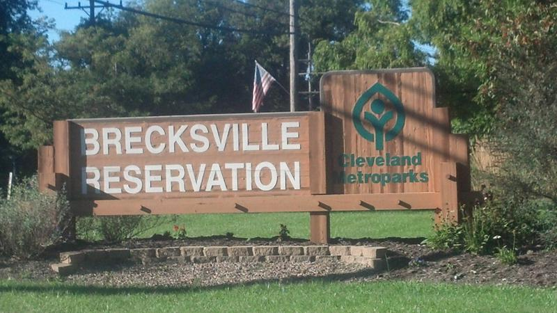 Brecksville Oh Entrance Sign