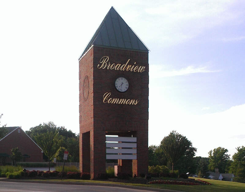 City Of Broadview Heightsc Ohio From Broadview Commons Shopping Centerc June
