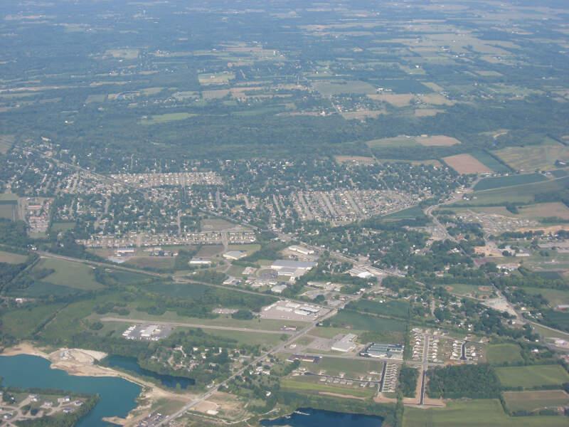 Carlisle Aerial Westward