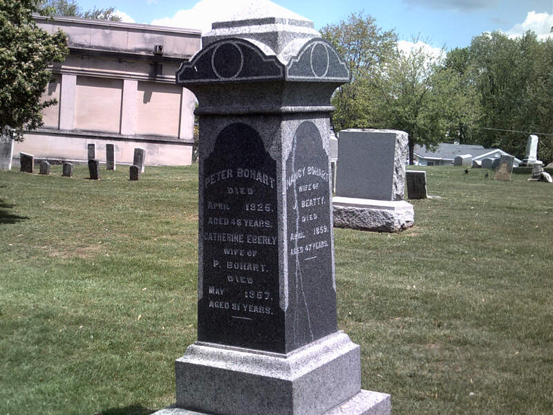 Peter Bohart Tomb Carrolltonc Ohio