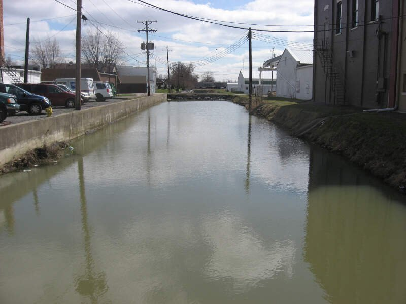Miami And Erie Canal In Delphos