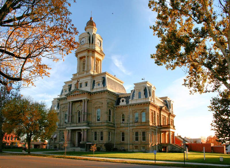 London Ohio Courthouse