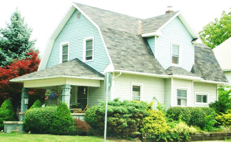 Dutch Colonial Revival Bungalow In Marysville Ohio