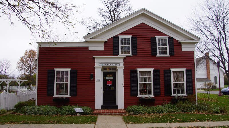 Maumee Oh  Greek Revival Townhouse  Built In S  Originally Located On Wayne And Gibbs Street In Maumee  Donated By Mr And Mrs Charles Reynolds