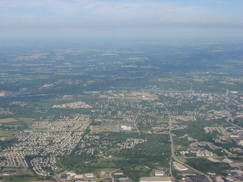 Miamisburg Aerial From The East