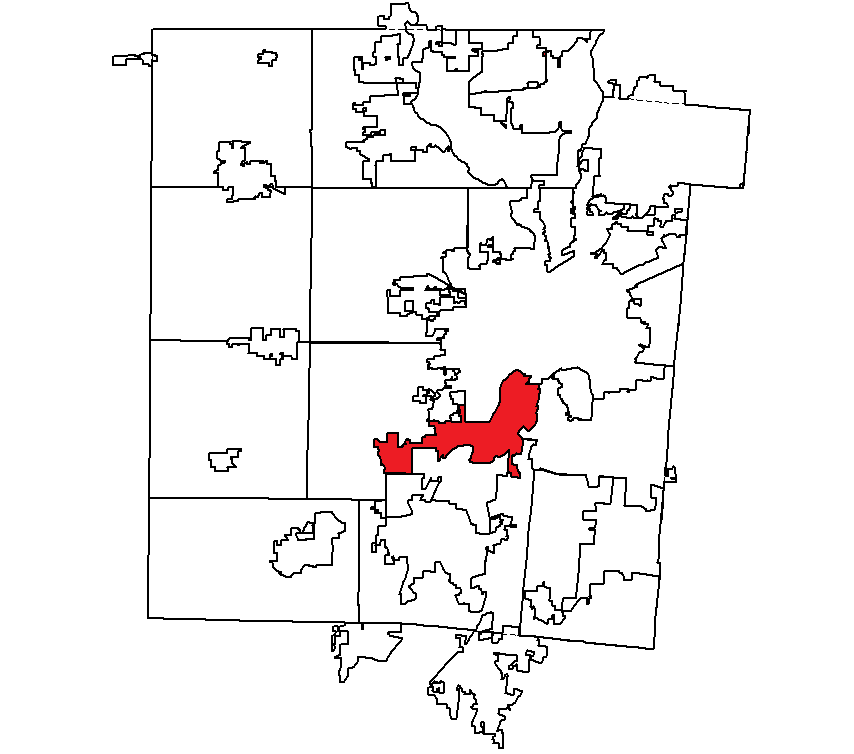 Moraine City Oh Outline