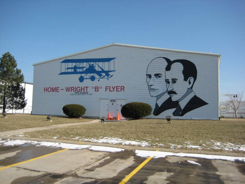 Wright B Flyer Museum