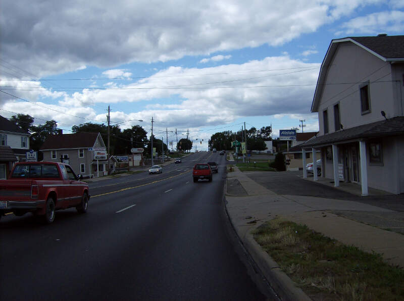 State Route In Wintersville