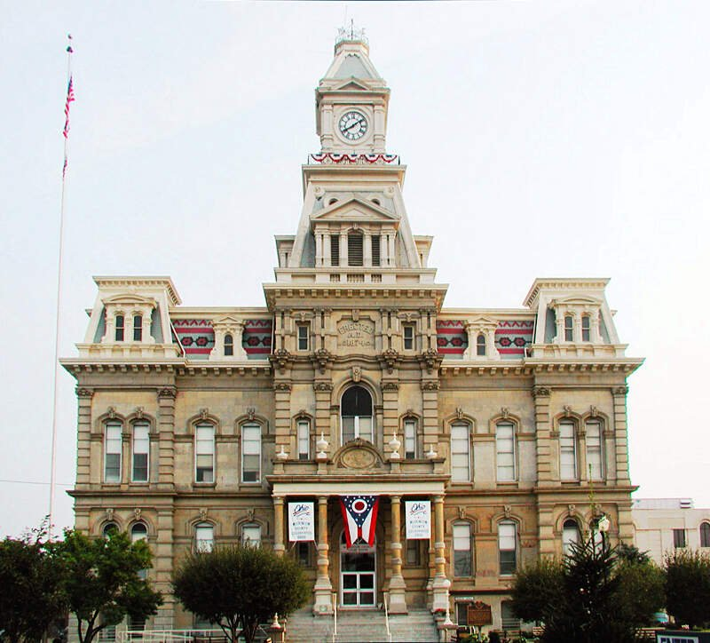 Muskingum County Courthouse Zanesville Oh