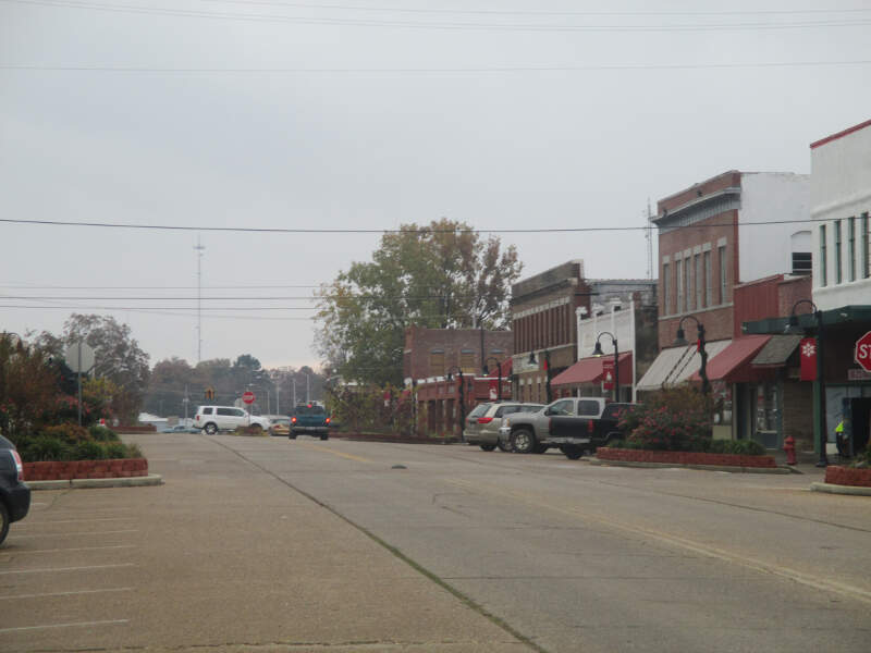 Another View Of Downtown Idabelc Ok Img