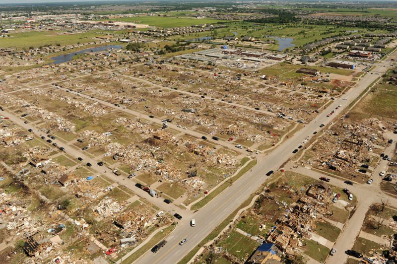 Fema Aerial View Of May C Moorec Oklahoma Tornado Damage
