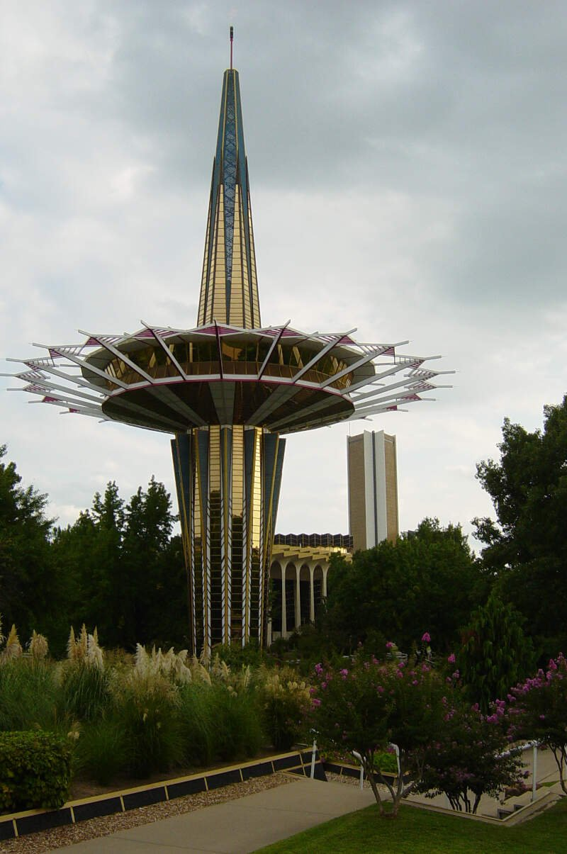 Prayer Tower On The Campus Of Oral Roberts University