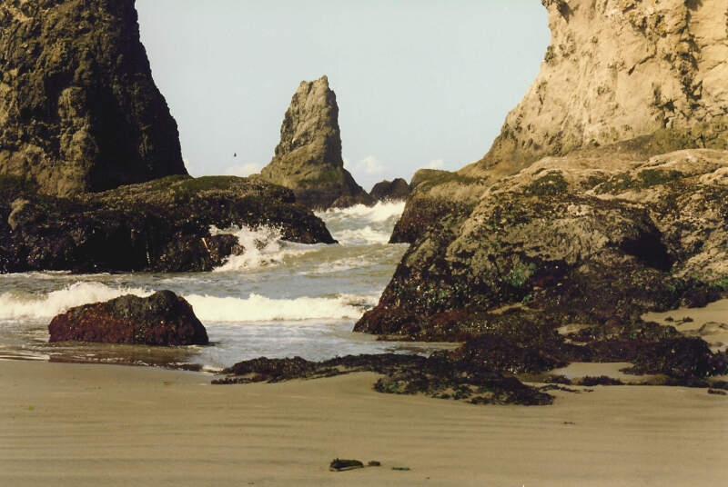 Bandon Oregon Coastal Rocks