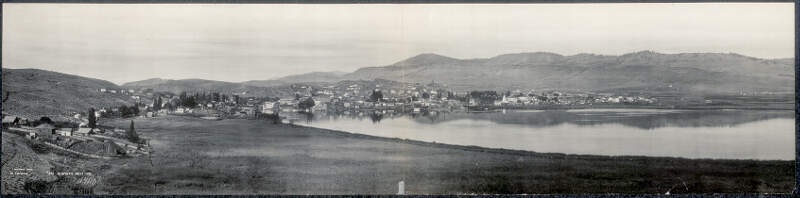 Klamath Fallsc Oregon Panoramic Photographs Library Of Congress Digital Id Pan Ar