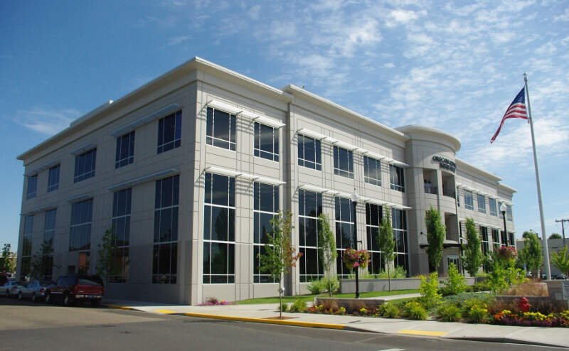 Oregon Mutual Insurance Company Headquarters In Mcminnville Oregon