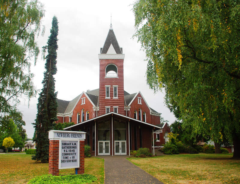 Friends Church In Newberg Oregon