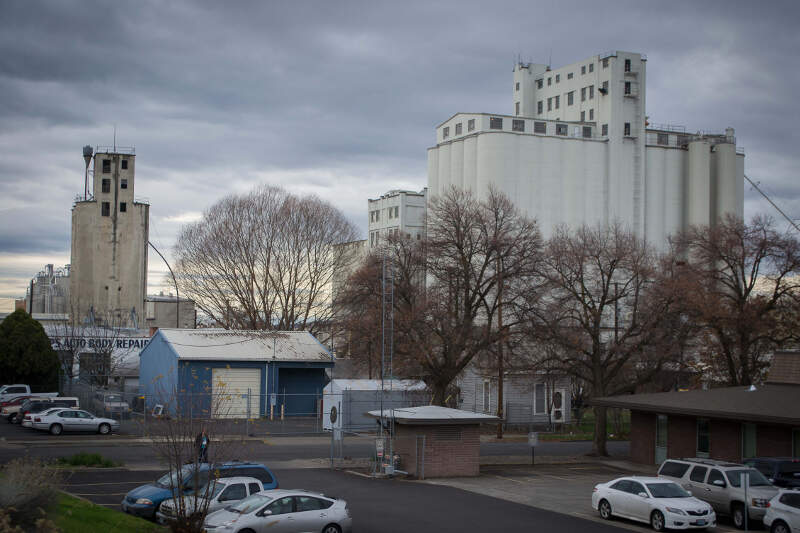 Grain Elevators Pendletonc Oregon